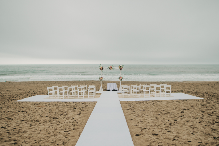 Intimate Coastal Malibu California Elopement