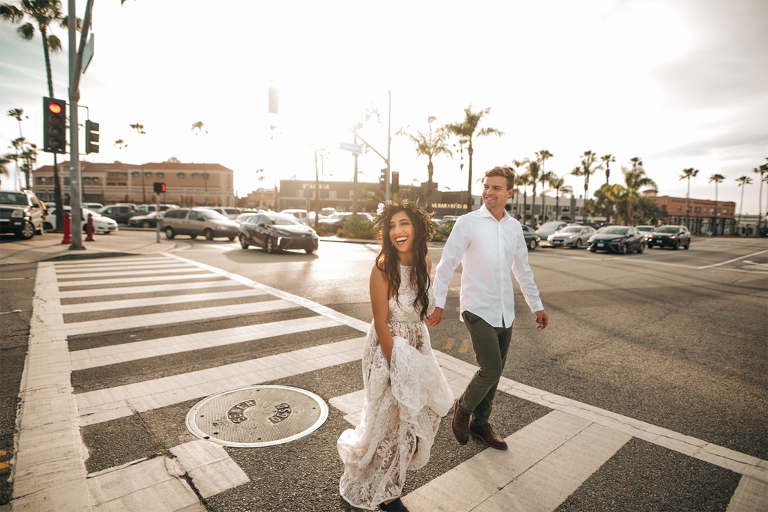 Newport Beach Orange County Elopement Inspiration