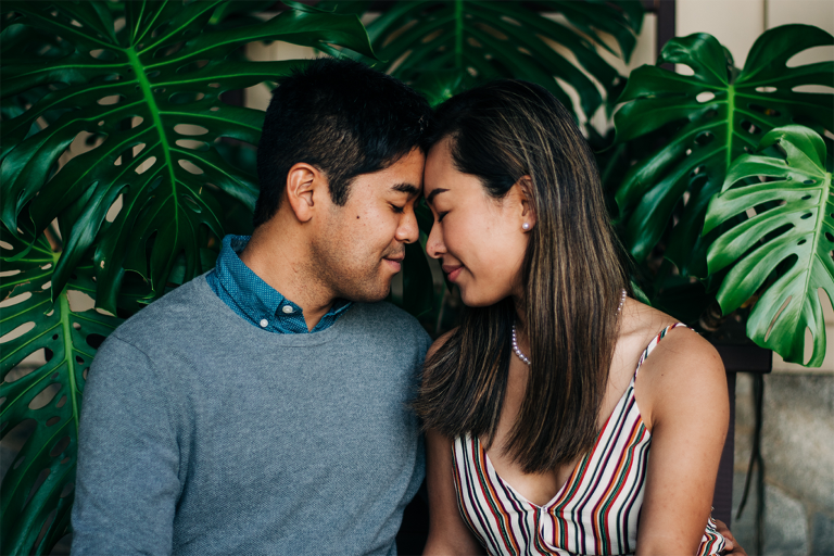 Will Rogers State Park Engagement Photos Los Angeles